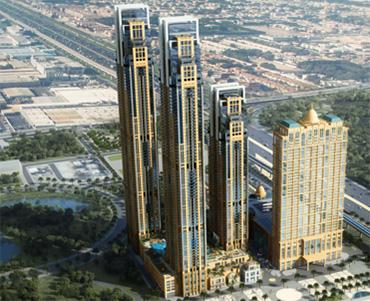 Al Habtoor City Construction Progress Time-lapse (April 2012 – November 2018)