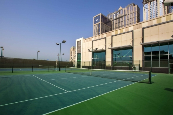 State-of-the-Art Tennis Academy Now Open at Al Habtoor City