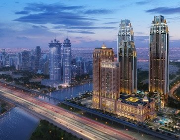 UAE's New Luxury Landmark, The Residence Collection at Al Habtoor City Reaches New Construction Milestone
