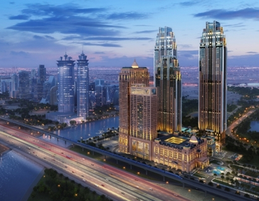 Al Habtoor City Best Project, Residential/Hospitality at the ENR Global Best Projects Competition 2018